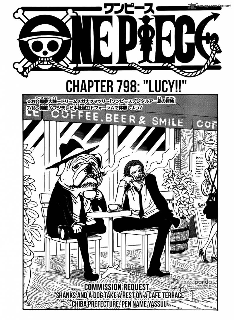 One Piece Chapter 789 Page 1