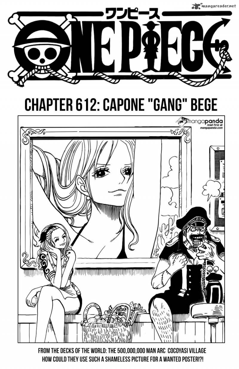 One Piece Chapter 812 Page 1