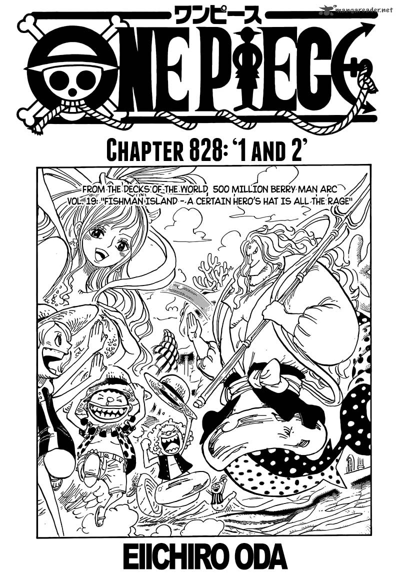 One Piece Chapter 828 Page 1