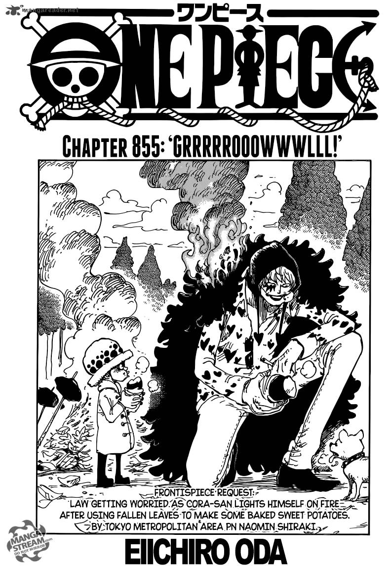 One Piece Chapter 855 Page 1