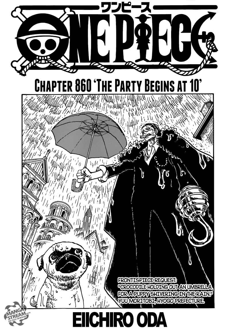 One Piece Chapter 860 Page 1