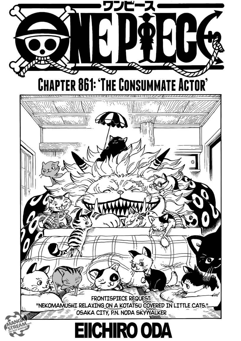 One Piece Chapter 861 Page 1