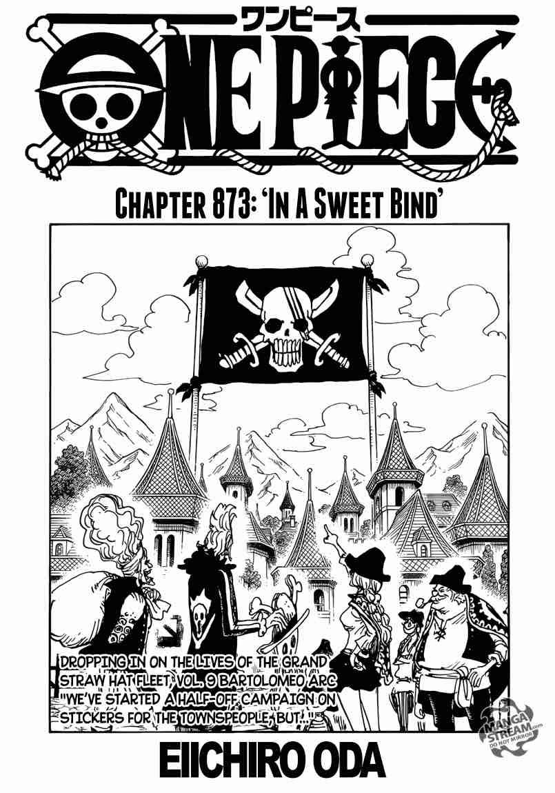 One Piece Chapter 873 Page 1