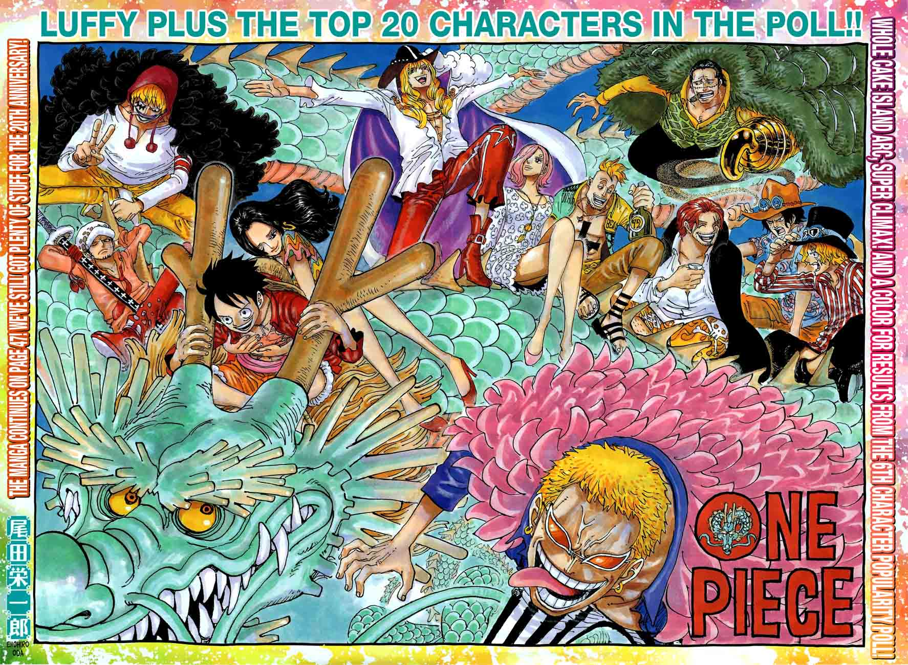 One Piece Chapter 874 Page 1