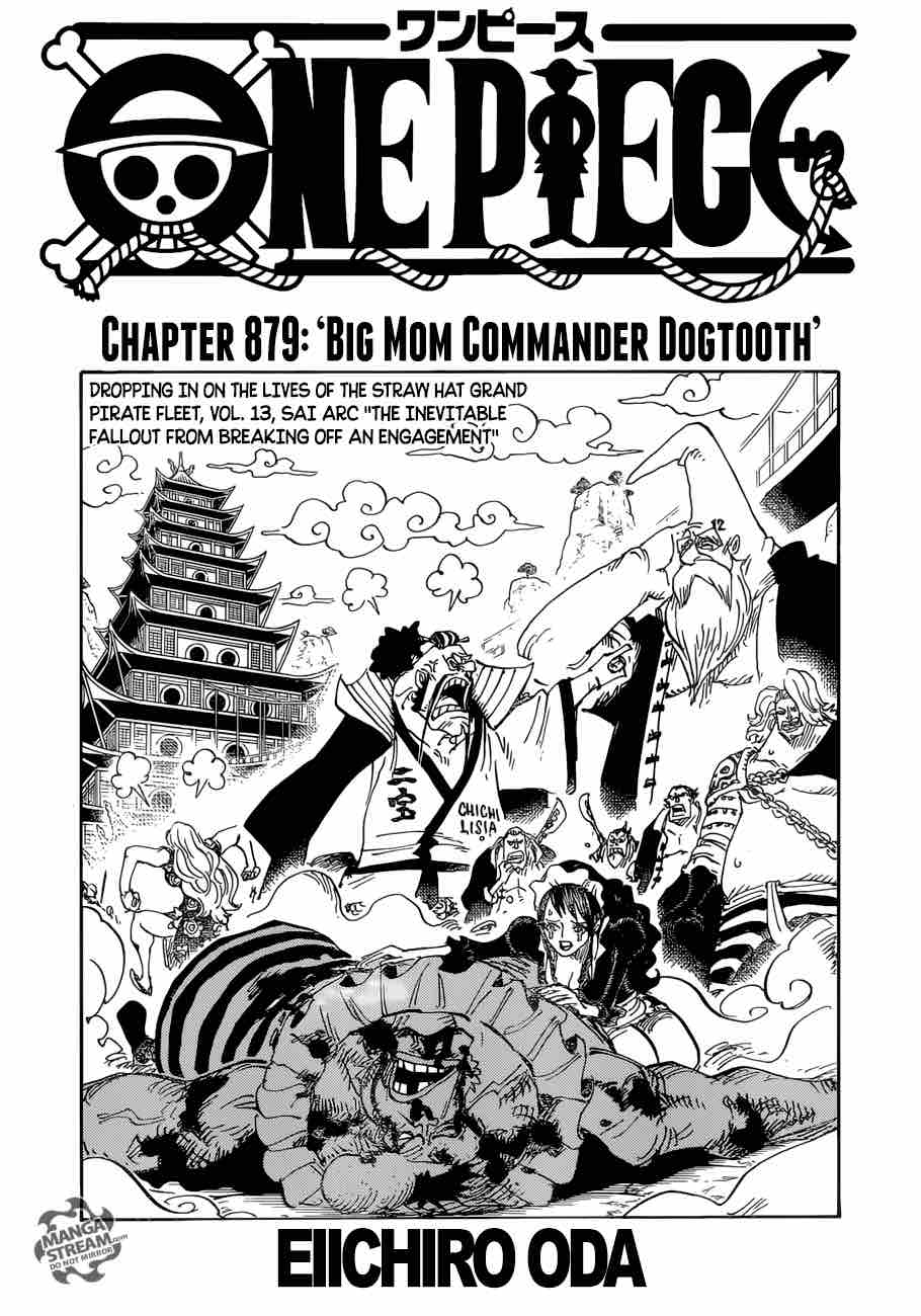 One Piece Chapter 879 Page 1