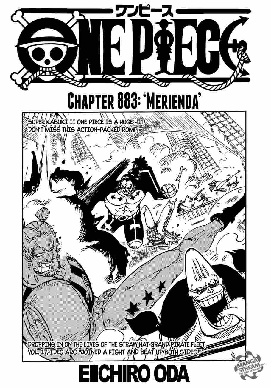 One Piece Chapter 883 Page 1