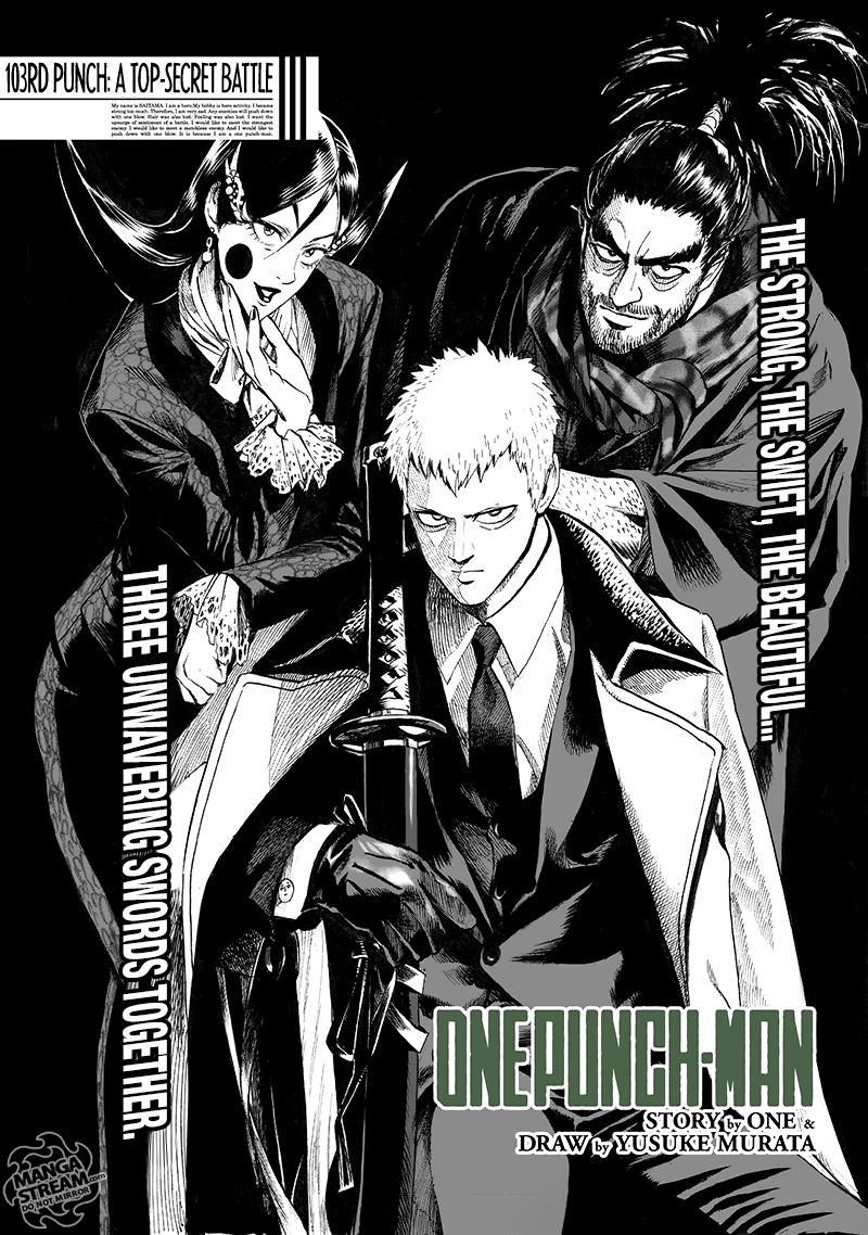 Onepunch Man Chapter 103 Page 1