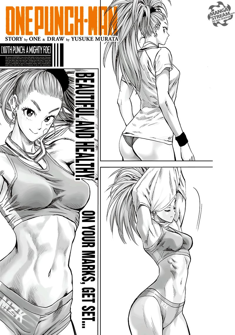 Onepunch Man Chapter 107 Page 1