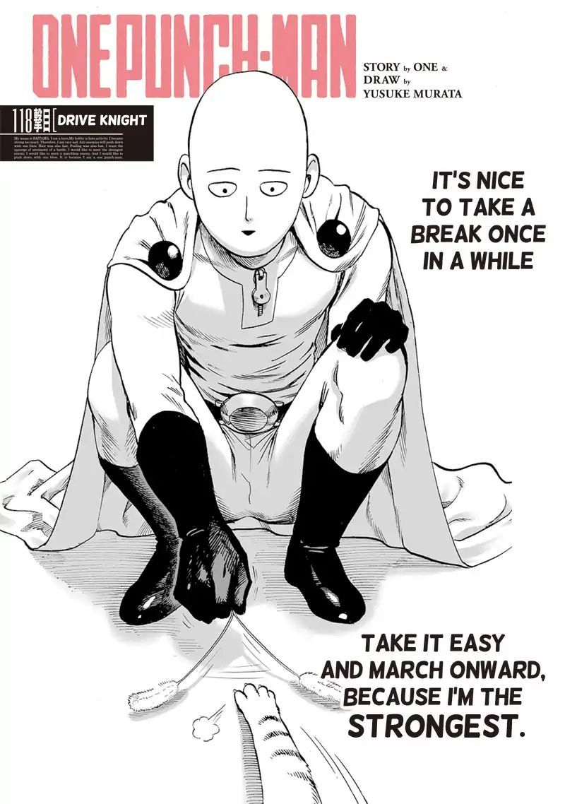 Onepunch Man Chapter 118 Page 1