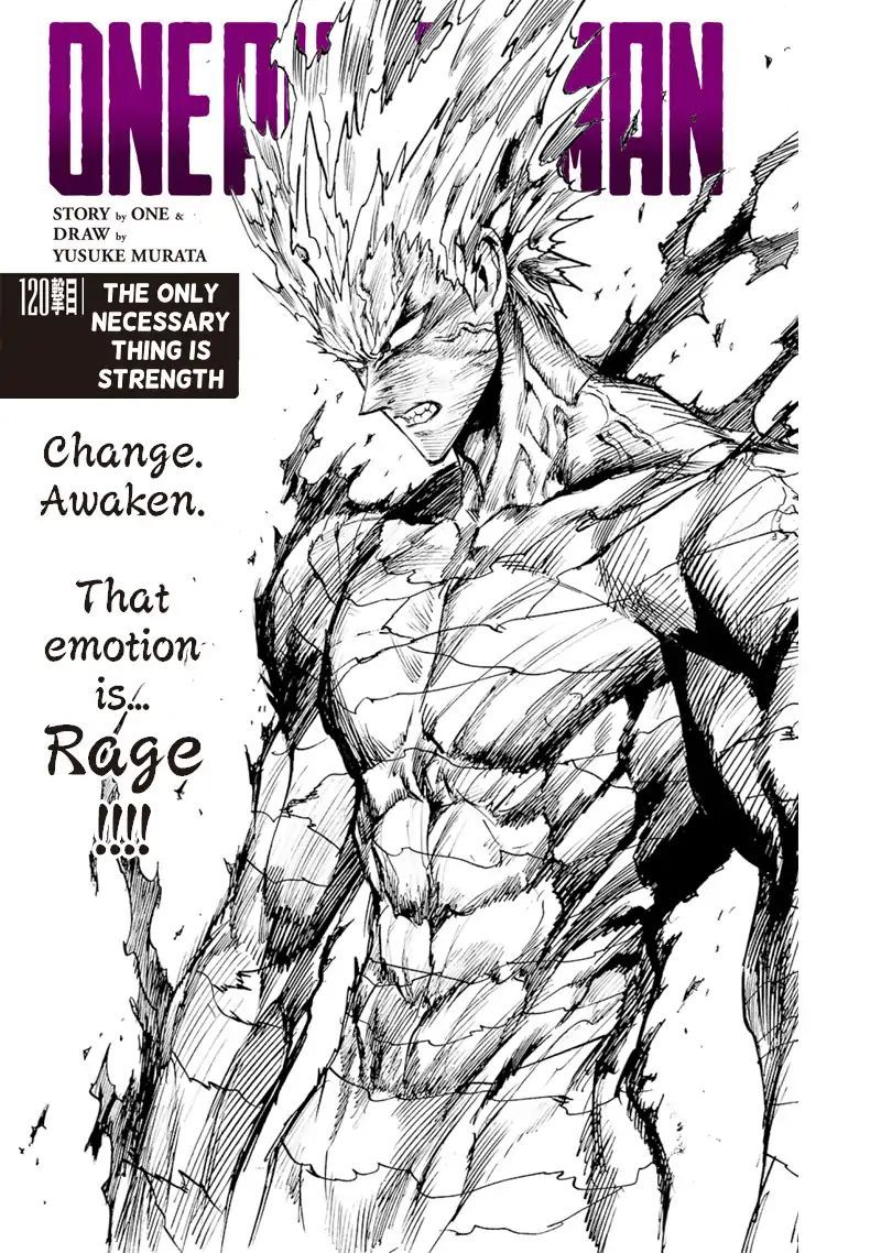 Onepunch Man Chapter 120 Page 1