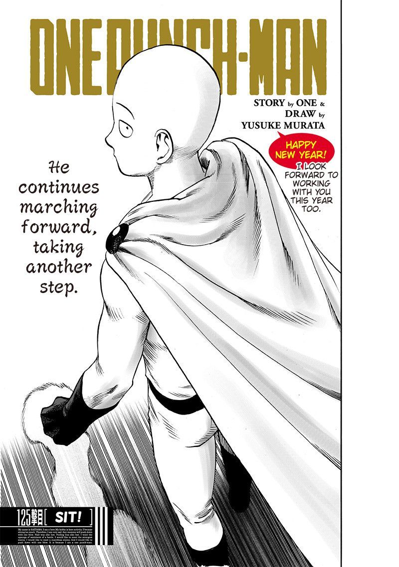 Onepunch Man Chapter 125 Page 1