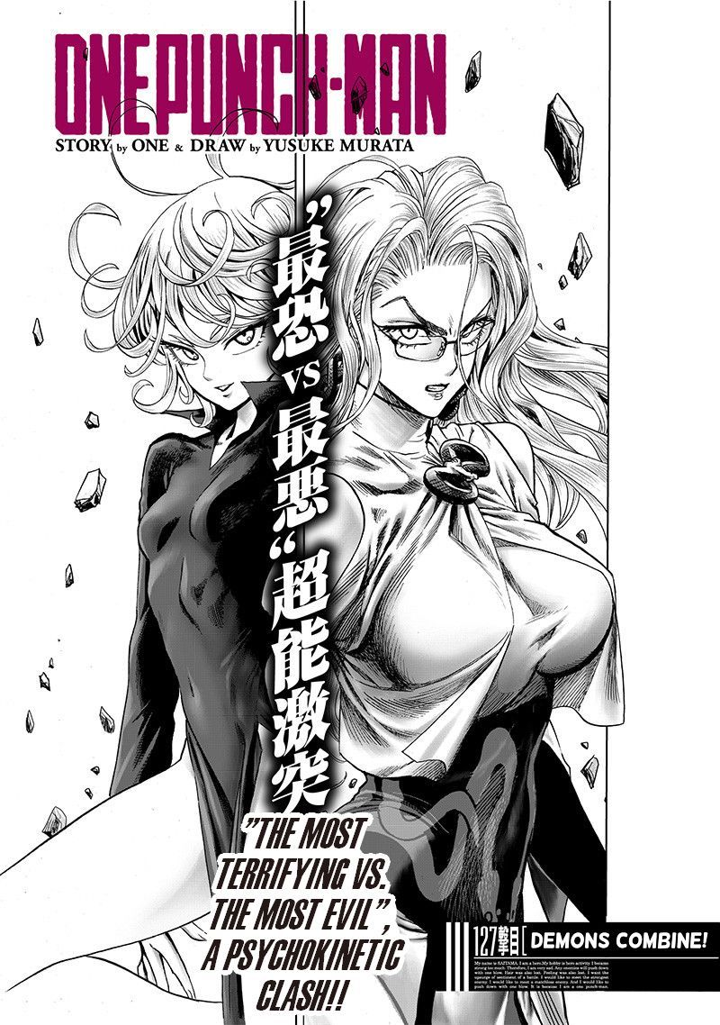 Onepunch Man Chapter 127 Page 1