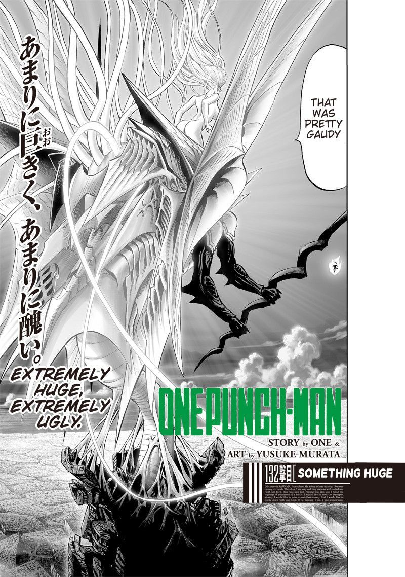 Onepunch Man Chapter 132 Page 1