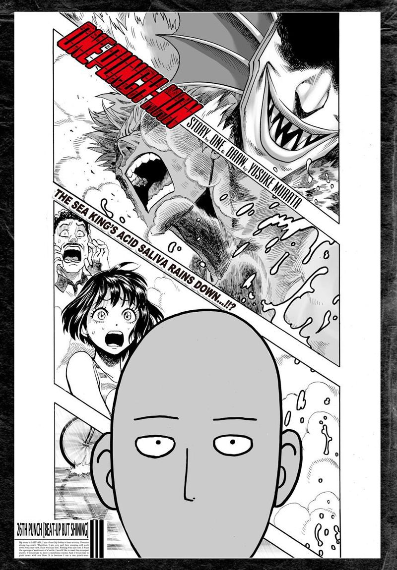 Onepunch Man Chapter 27 Page 1