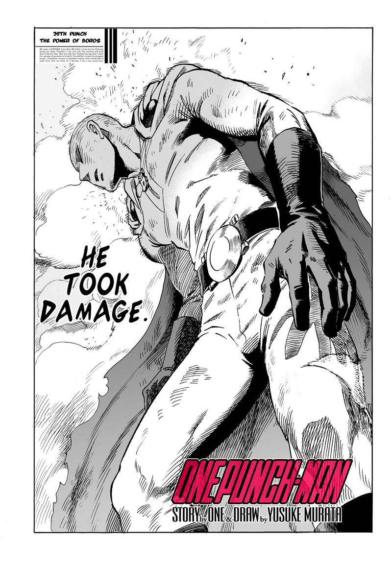 Onepunch Man Chapter 36 Page 1