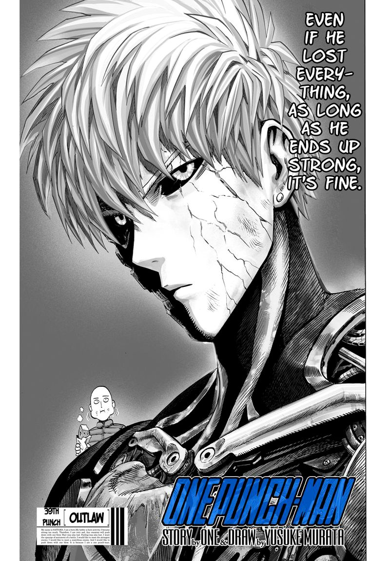 Onepunch Man Chapter 40 Page 1