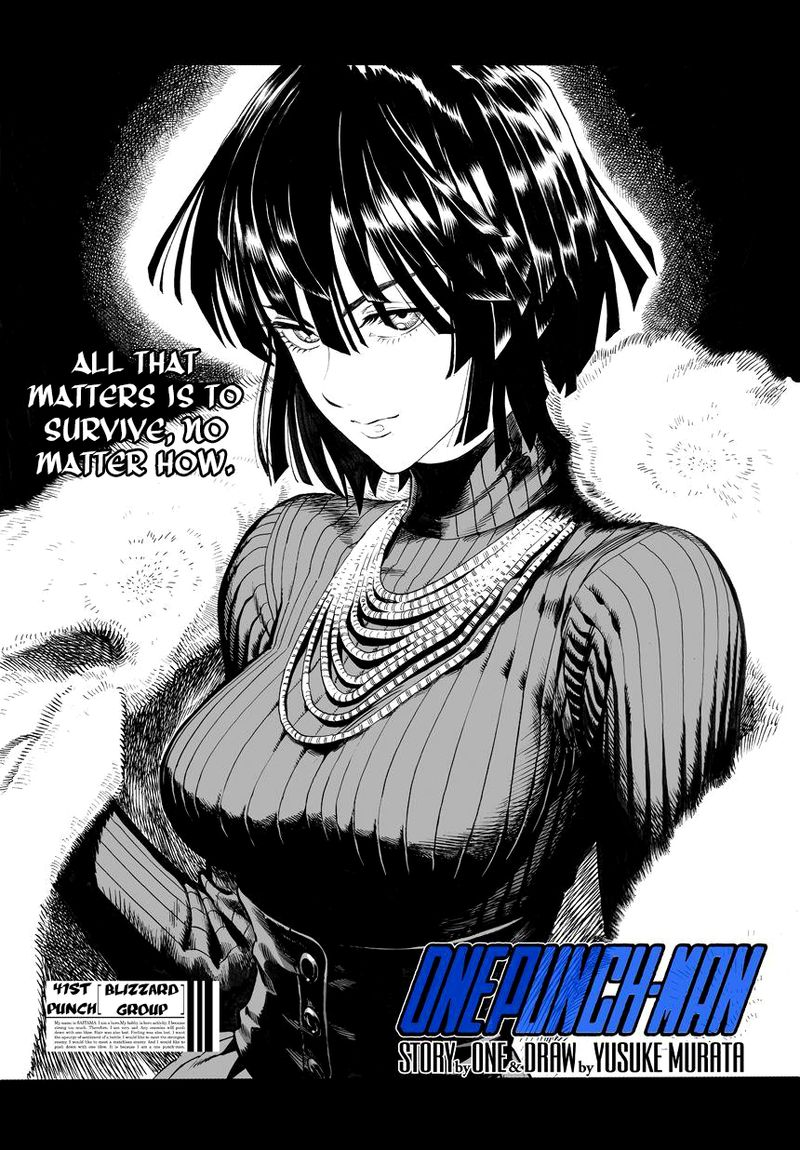Onepunch Man Chapter 42 Page 1