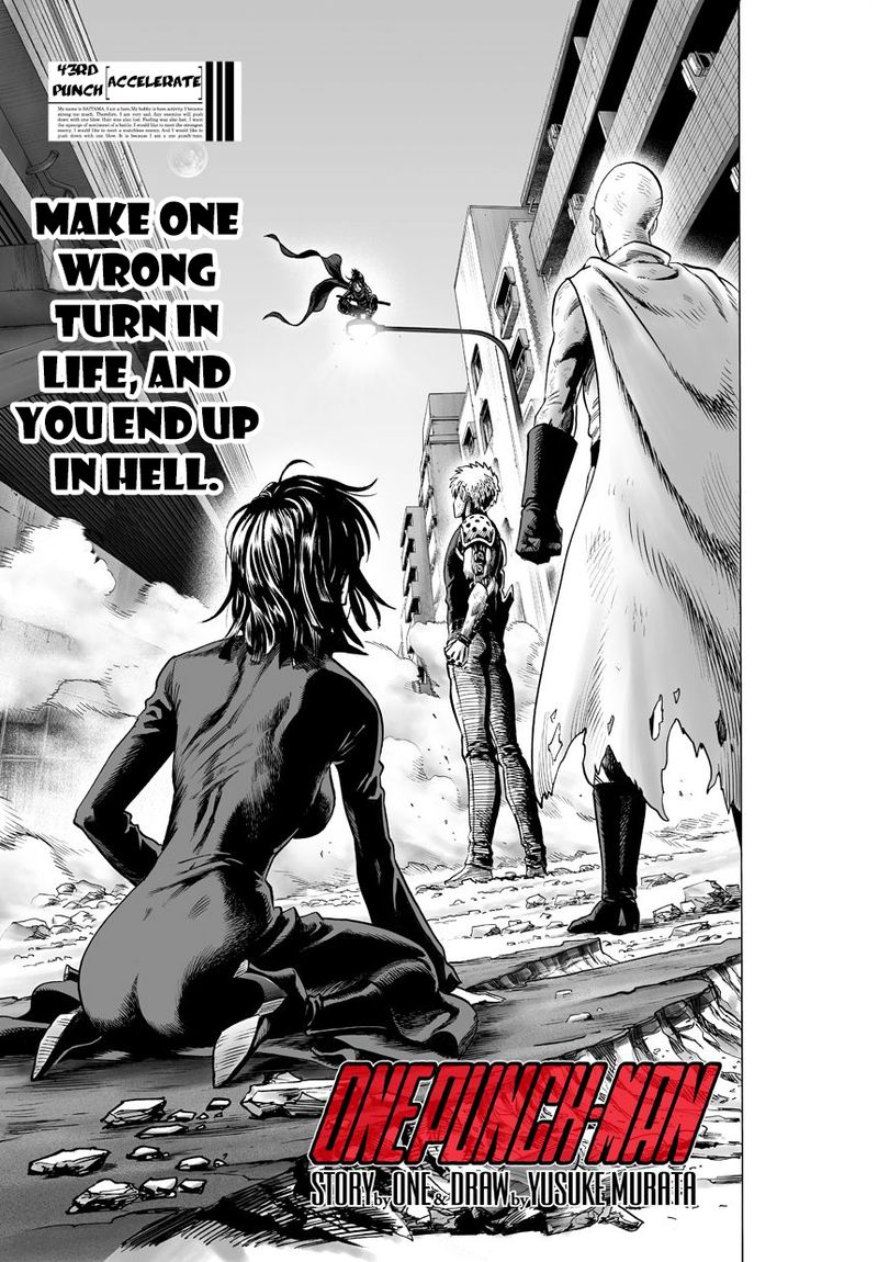 Onepunch Man Chapter 44 Page 1