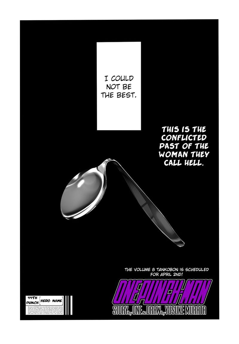 Onepunch Man Chapter 45 Page 1