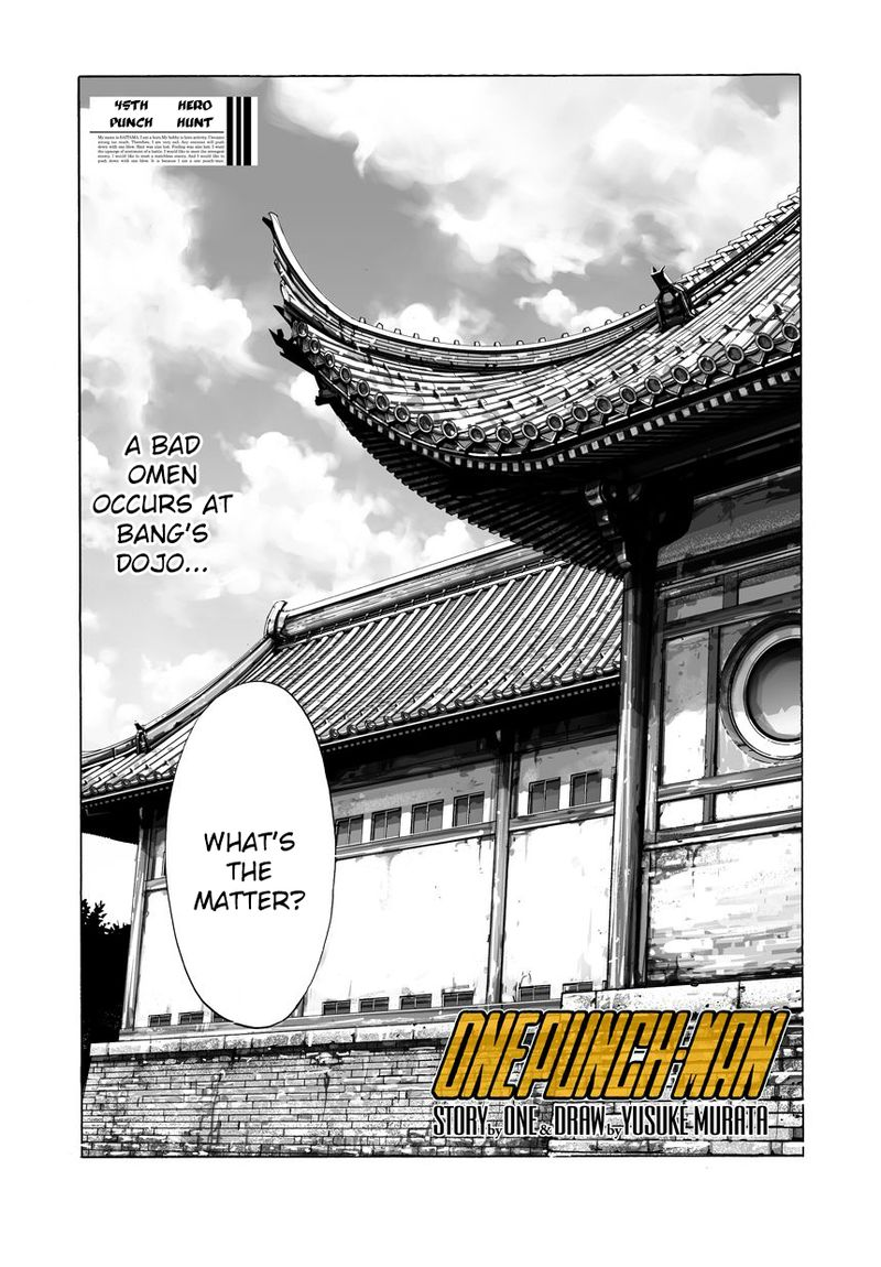 Onepunch Man Chapter 46 Page 1