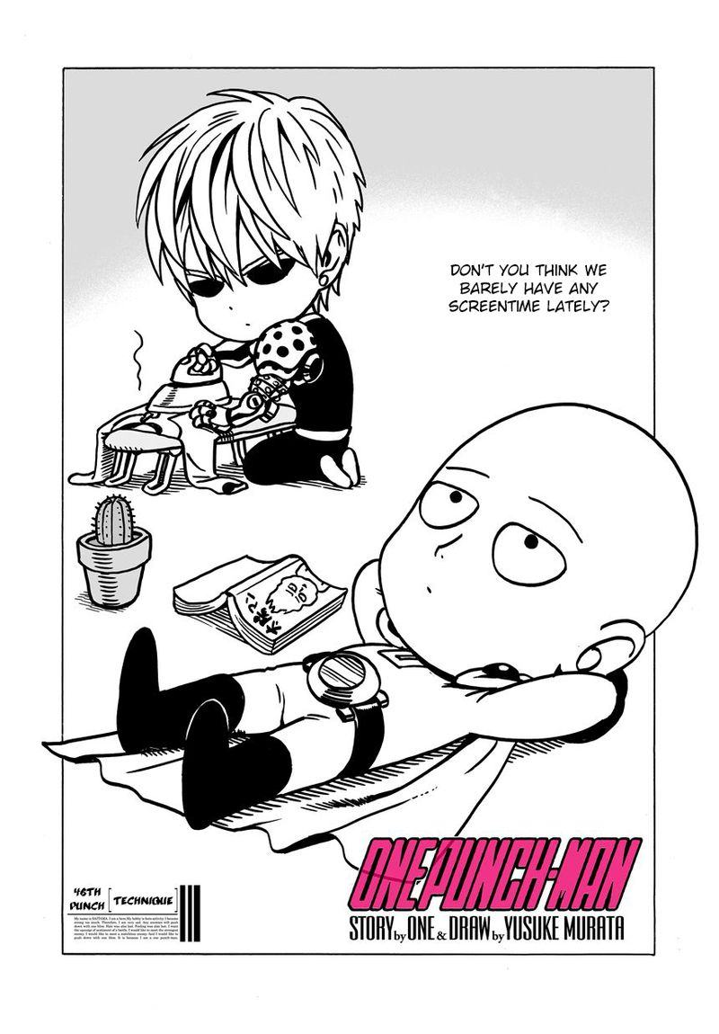 Onepunch Man Chapter 47 Page 1