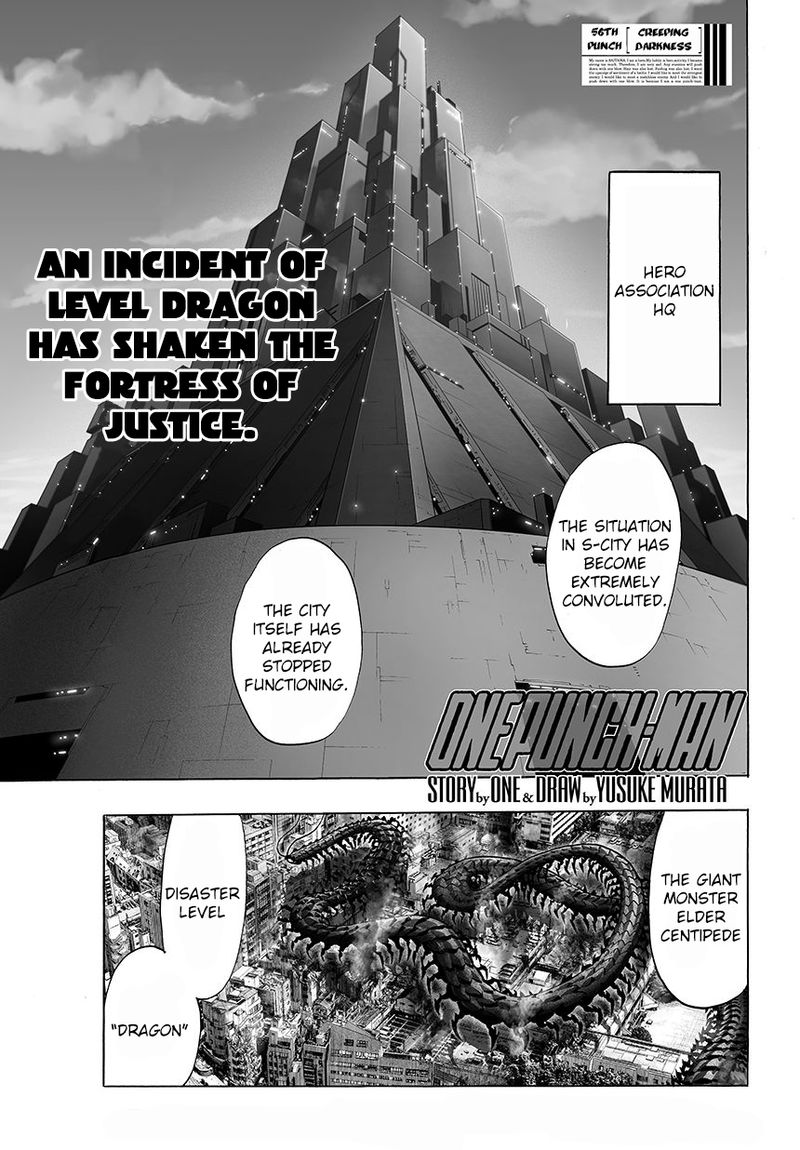 Onepunch Man Chapter 58 Page 1