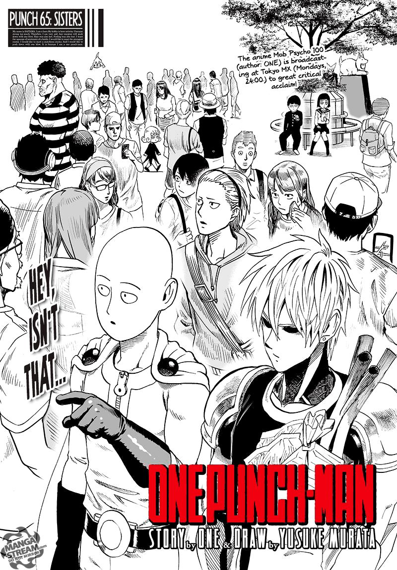 Onepunch Man Chapter 65 Page 1