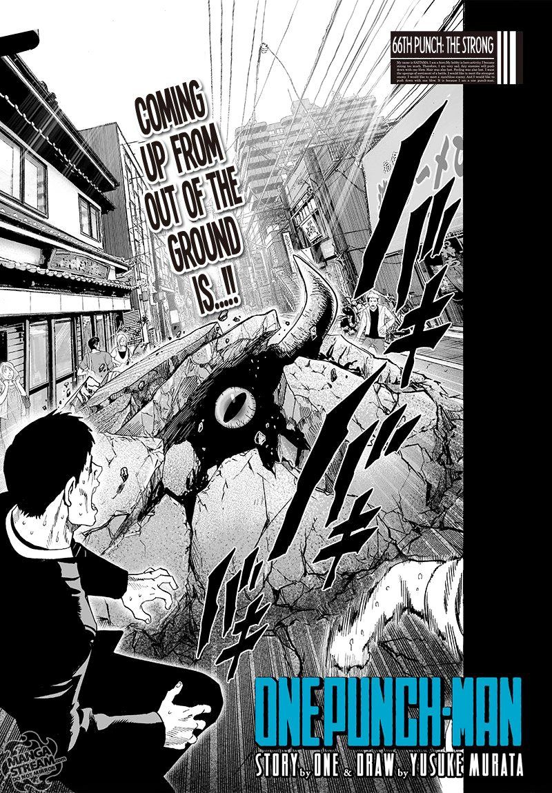 Onepunch Man Chapter 66 Page 1