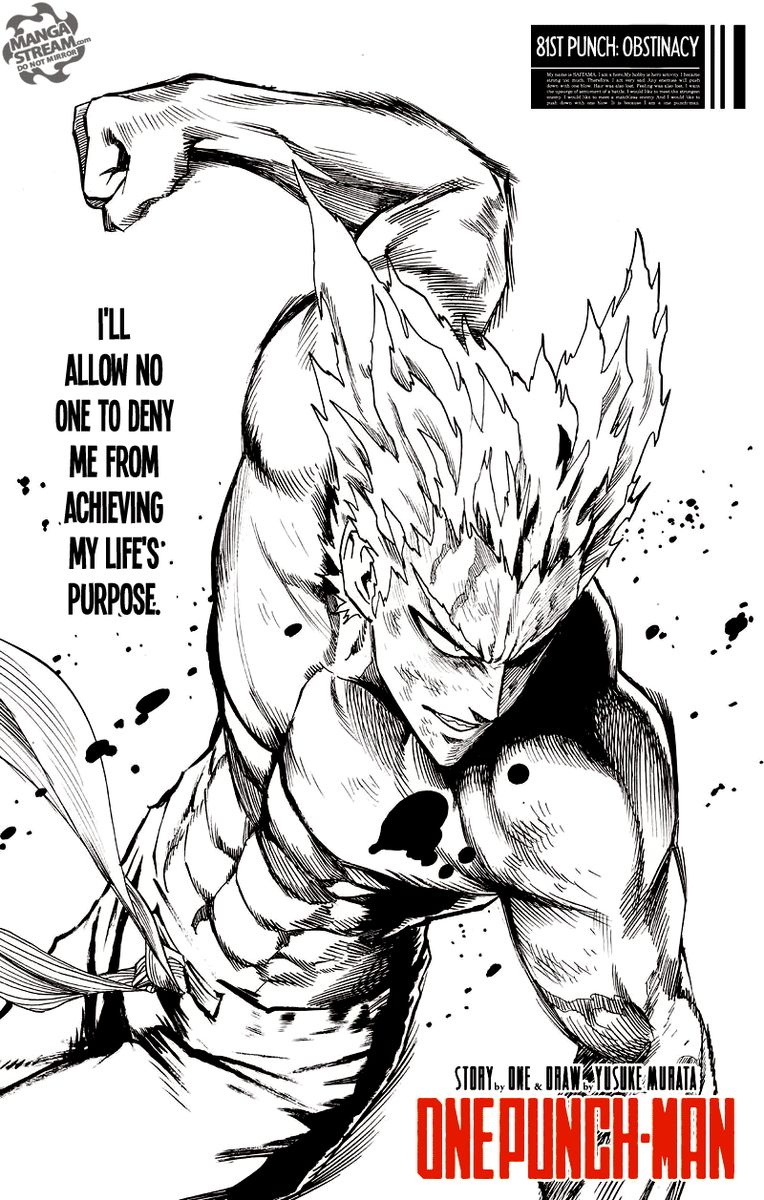 Onepunch Man Chapter 81 Page 1