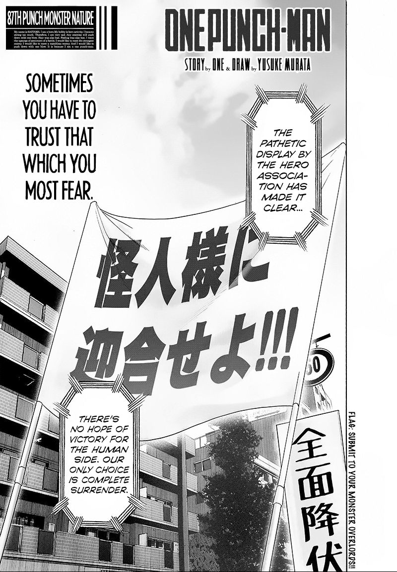 Onepunch Man Chapter 87 Page 1