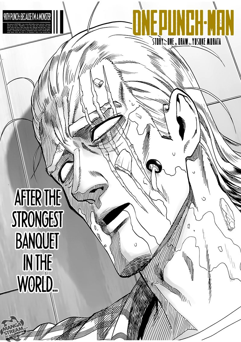 Onepunch Man Chapter 90 Page 1