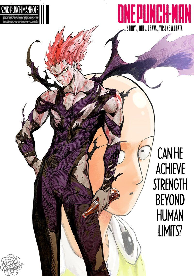 Onepunch Man Chapter 92 Page 1