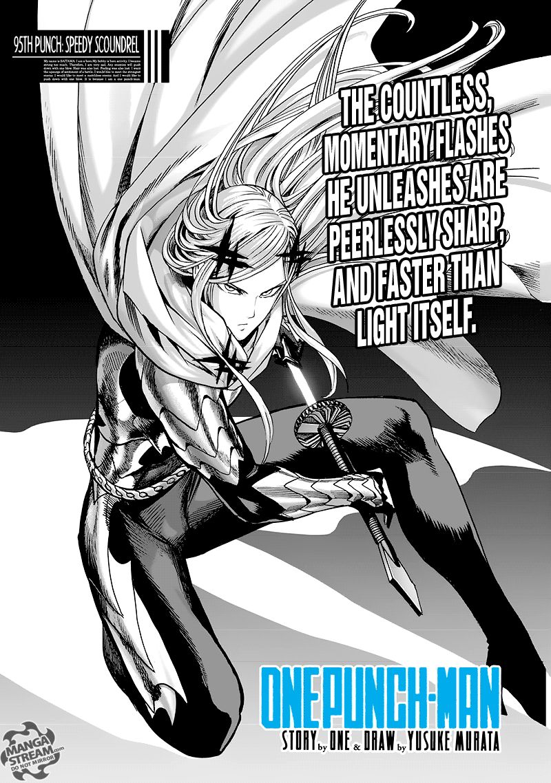 Onepunch Man Chapter 95 Page 1