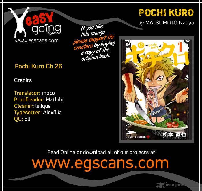 Pochi Kuro Chapter 26 Page 1