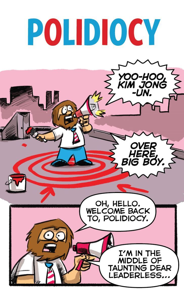 Polidiocy Chapter 39 Page 1