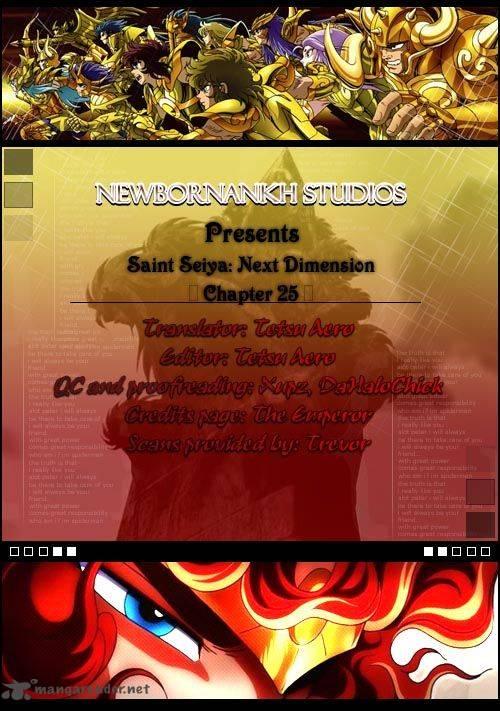 Saint Seiya Next Dimension Chapter 25 Page 1