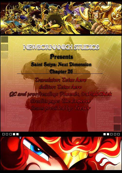 Saint Seiya Next Dimension Chapter 26 Page 1