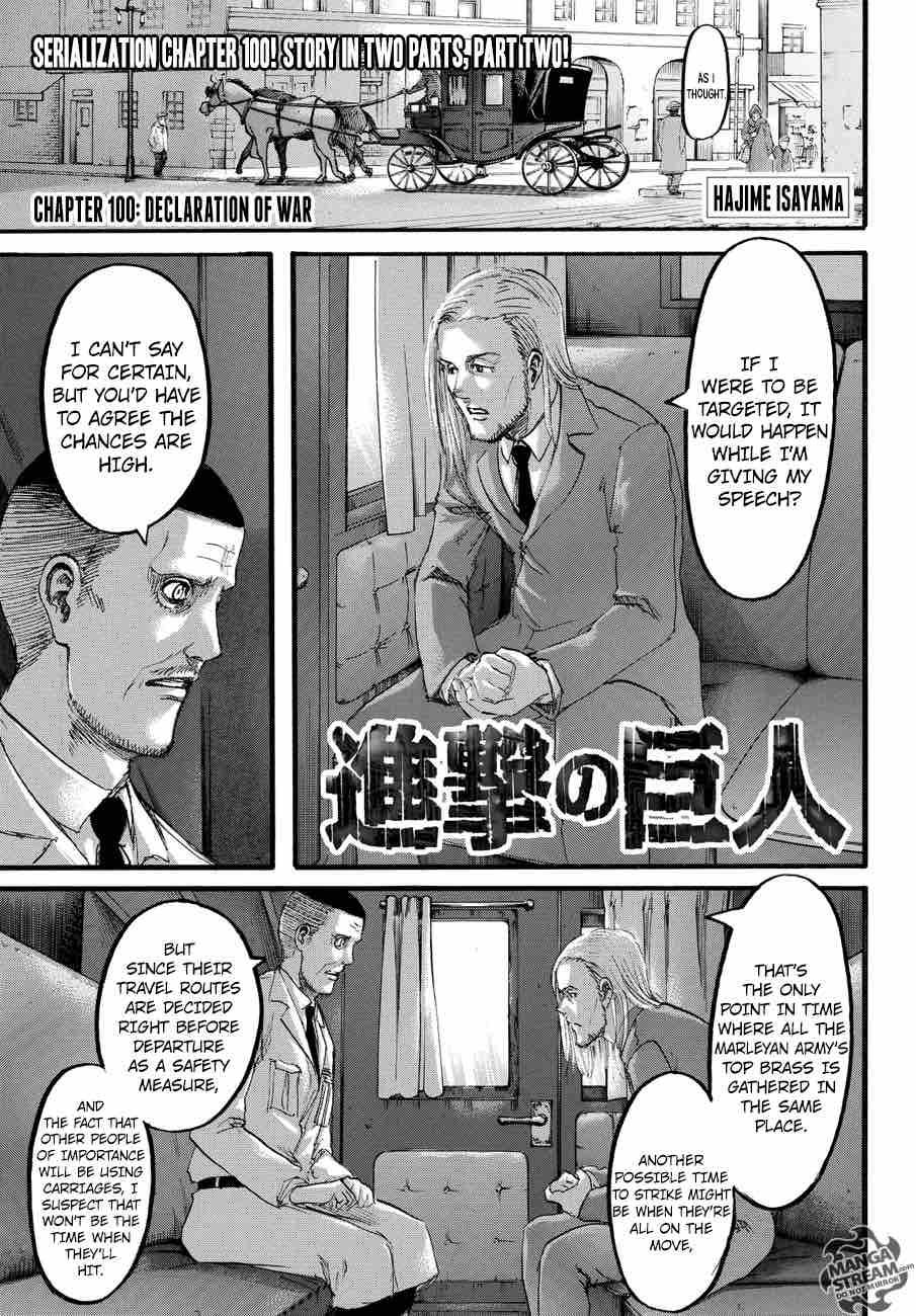 Shingeki No Kyojin Chapter 100 Page 2