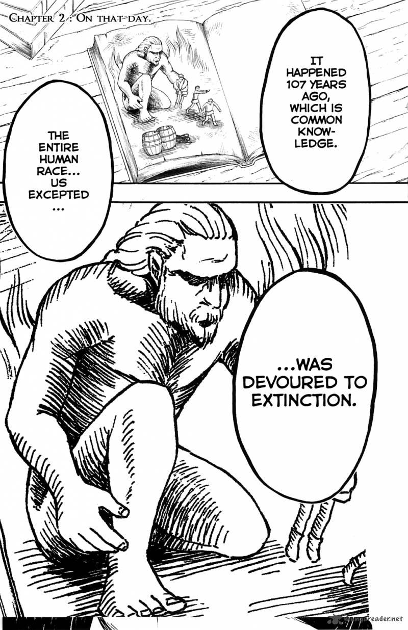 Shingeki No Kyojin Chapter 2 Page 1