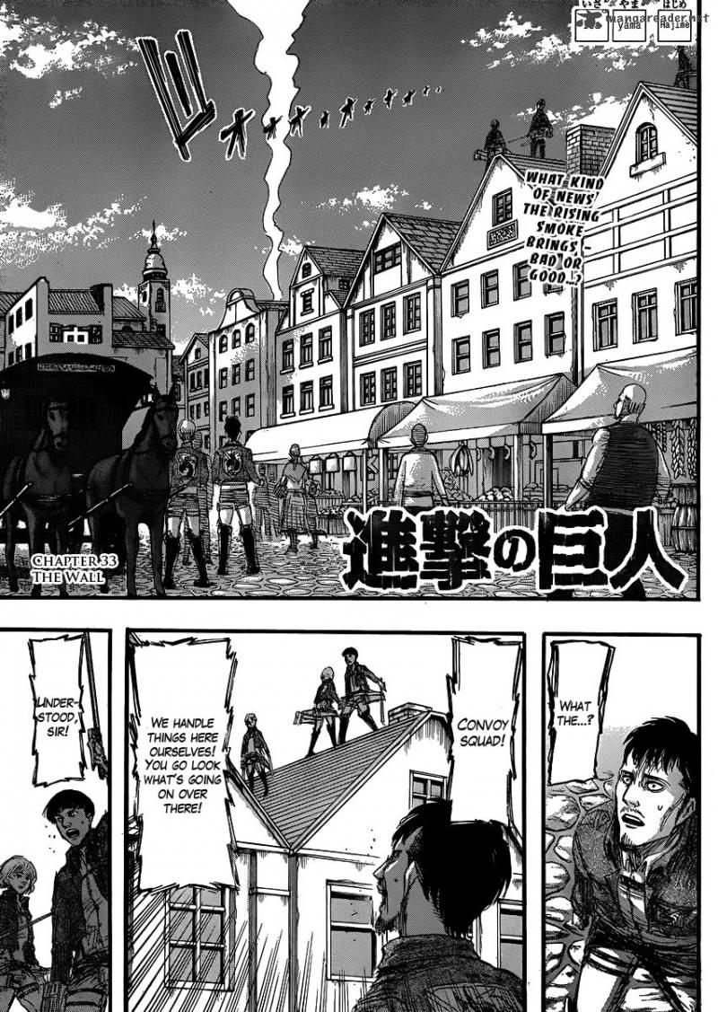 Shingeki No Kyojin Chapter 33 Page 1