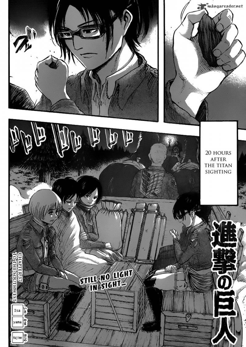 Shingeki No Kyojin Chapter 37 Page 1