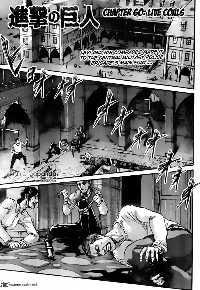 Shingeki No Kyojin Chapter 60 Page 1