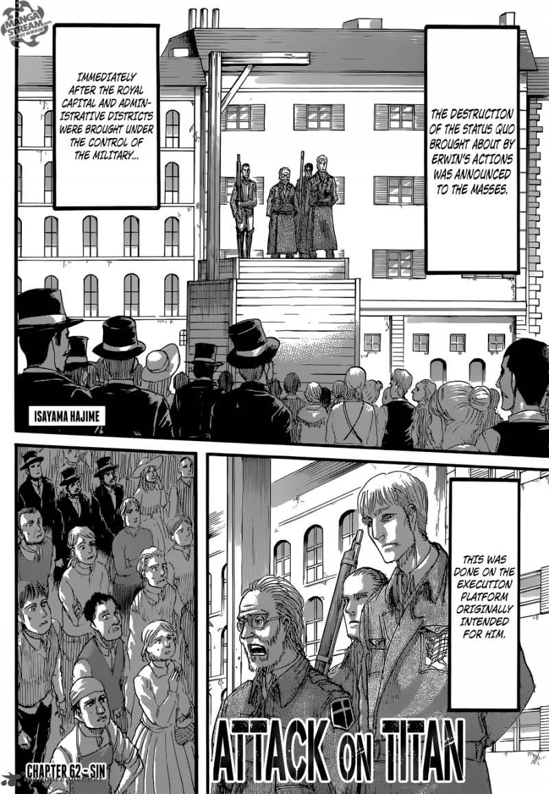 Shingeki No Kyojin Chapter 62 Page 1