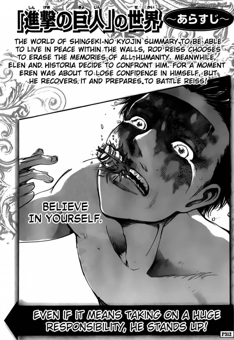Shingeki No Kyojin Chapter 67 Page 1