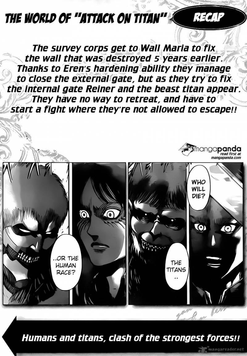Shingeki No Kyojin Chapter 75 Page 1