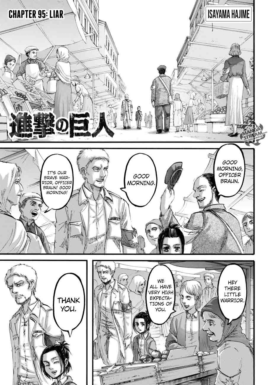 Shingeki No Kyojin Chapter 95 Page 1