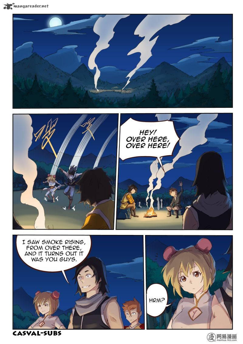 Star Martial God Technique Chapter 55 Page 1