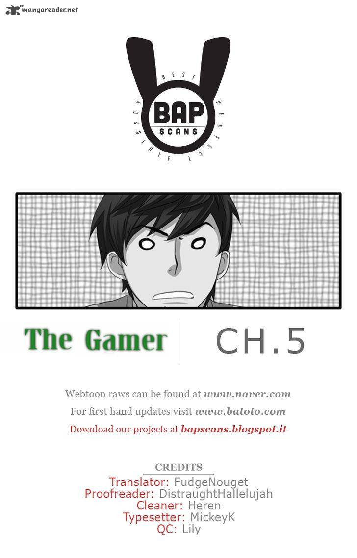 The Gamer Chapter 5 Page 1