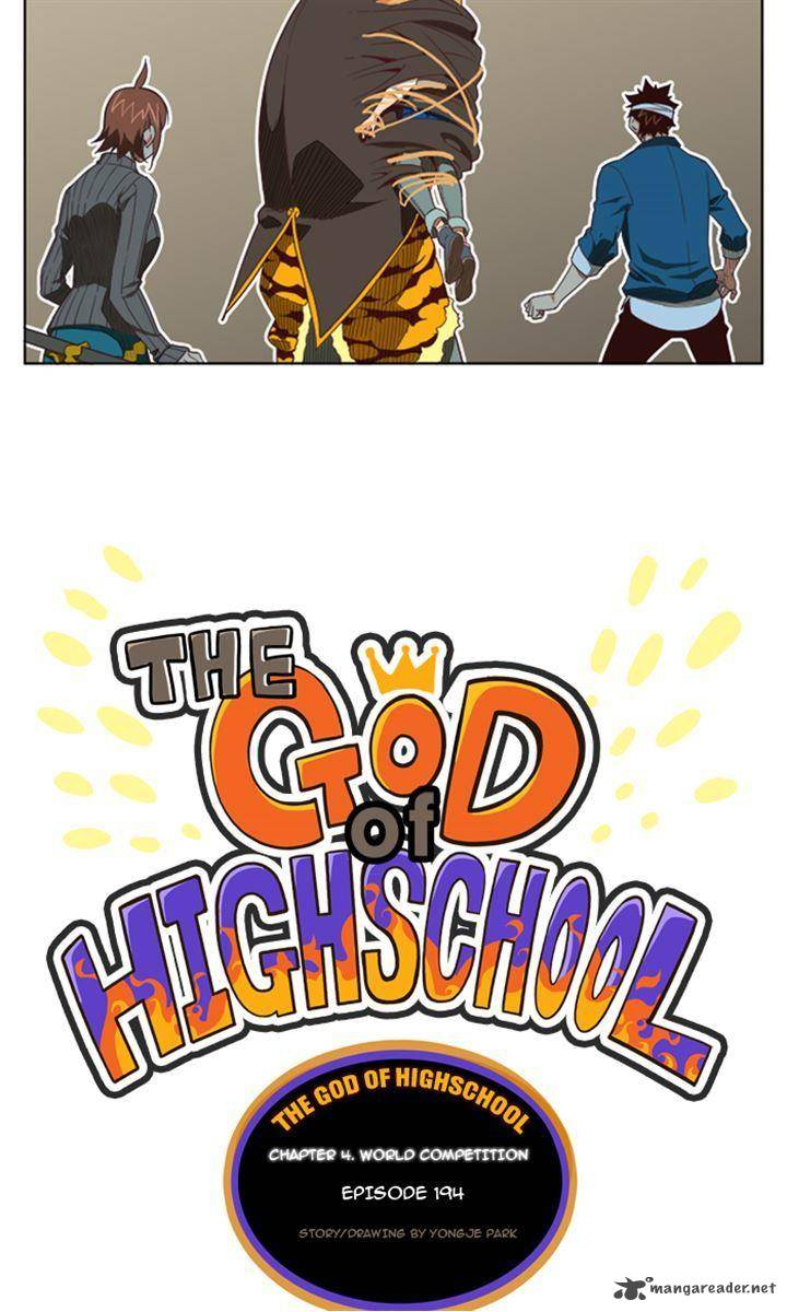 The God Of High School Chapter 194 Page 1