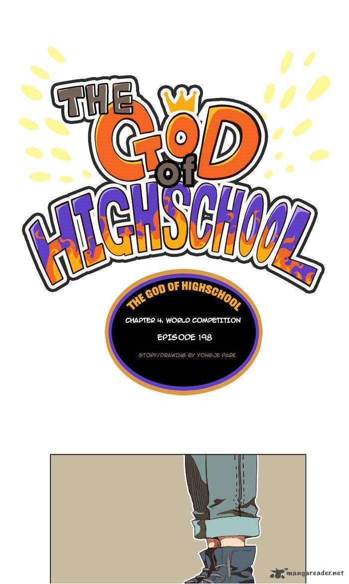 The God Of High School Chapter 198 Page 1